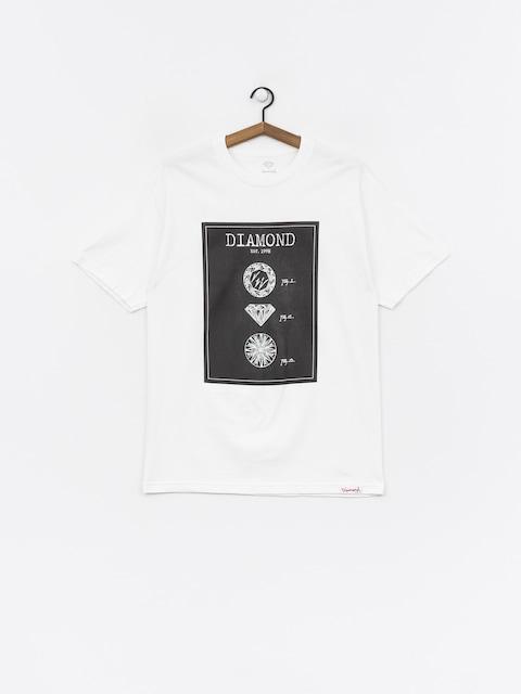 T-shirt Diamond Supply Co. Draft