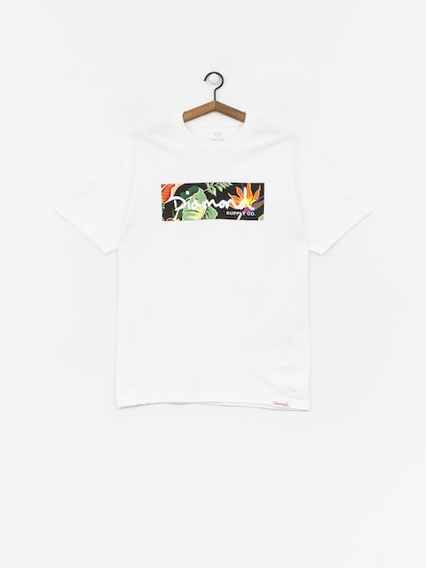 T-shirt Diamond Supply Co. Paradise Box Logo