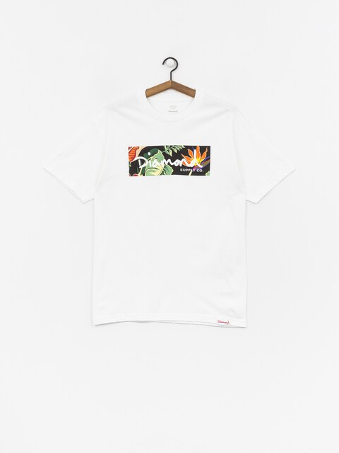 T-shirt Diamond Supply Co. Paradise Box Logo