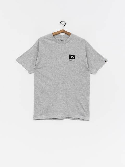 T-shirt Emerica Brand Combo (grey/black)