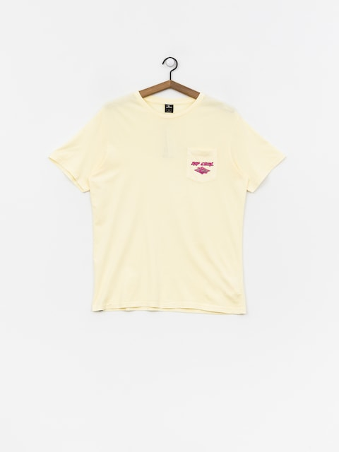 T-shirt Rip Curl So Authentic (pale yellow)