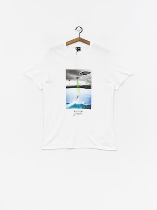 T-shirt Rip Curl Good Bad Day (optical white)