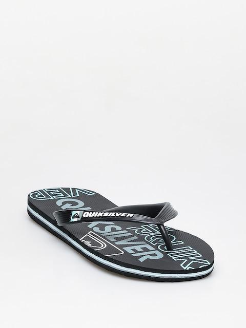 Japonki Quiksilver Molokai Nitro (black/blue/black)