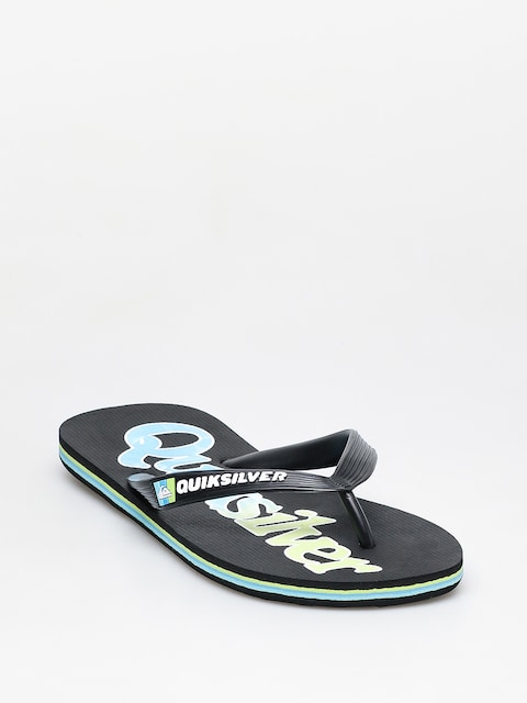 Japonki Quiksilver Molokai Wordmark Fineline (black/green/blue)