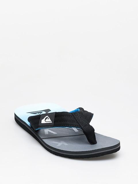 Japonki Quiksilver Molokai Layback (black/grey/blue)