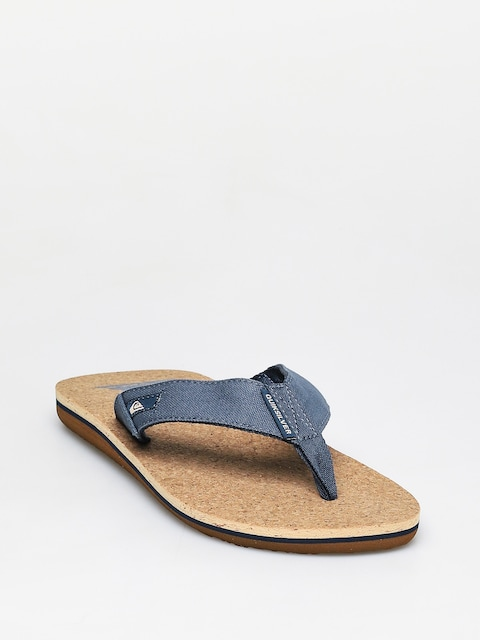 Japonki Quiksilver Molokai Abyss Cork (blue/brown/blue)