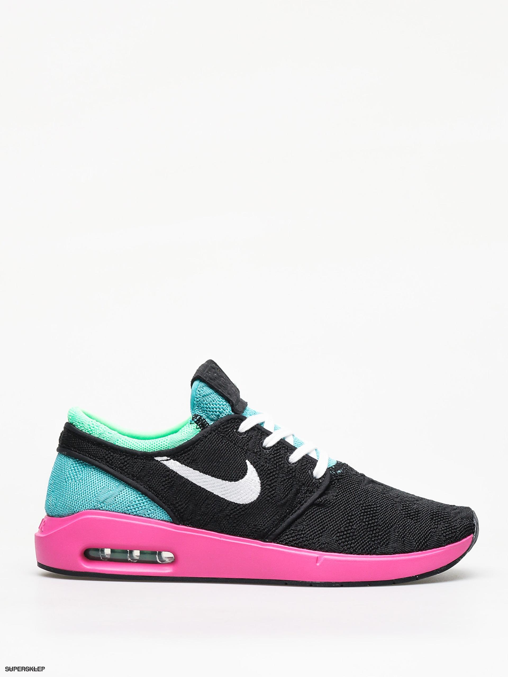 Buty Nike SB Sb Air Max Janoski 2 (blackwhite cabana electro green)