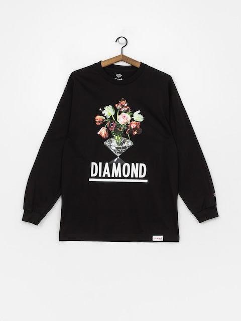 Longsleeve Diamond Supply Co. Pollination (black)