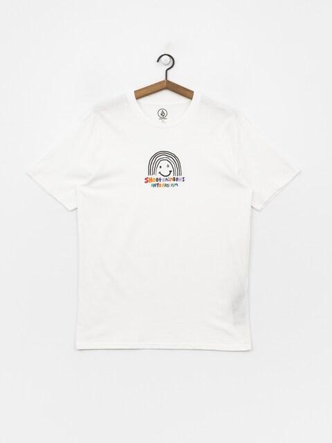 T-shirt Volcom Ozzy Rainbow (wht)