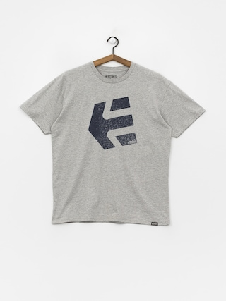 T-shirt Etnies Logomania (grey/heather)