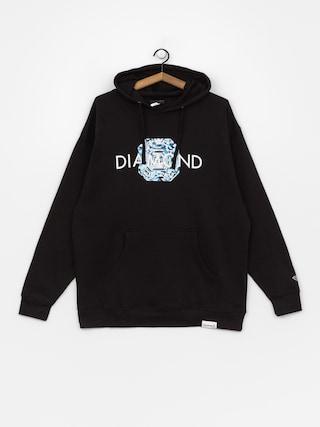 Bluza z kapturem Diamond Supply Co. Asscher Cut HD (black)