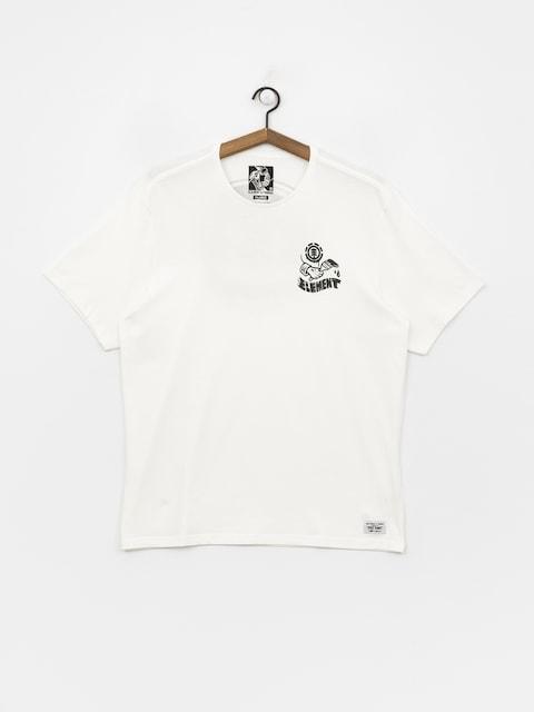 T-shirt Element Painted
