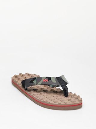 Japonki RVCA Astrodeck Sandal (wood)