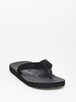 Japonki RVCA Subtropic Sandal (black)