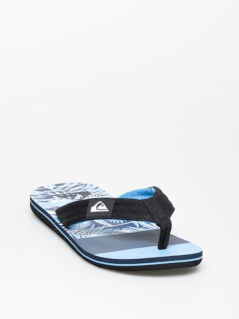 Japonki Quiksilver Molokai Layback (black/blue//blue)