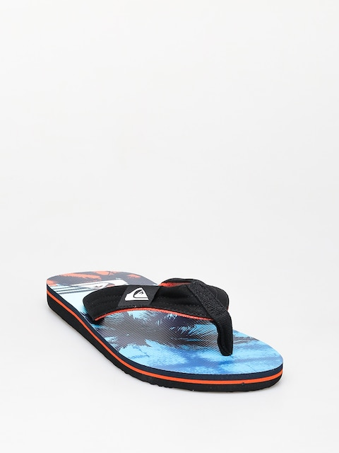 Japonki Quiksilver Molokai Layback (black/orange/blue)
