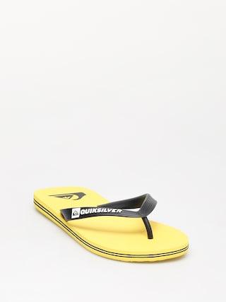 Japonki Quiksilver Molokai (black/yellow/yellow)