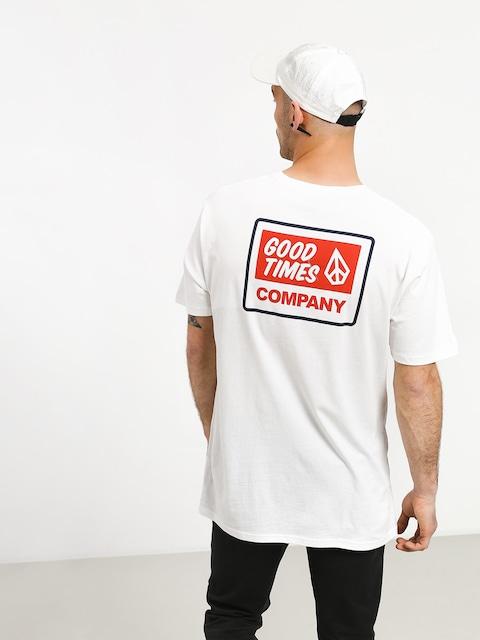 T-shirt Volcom Volcom Is Good (wht)