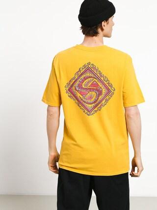 T-shirt Quiksilver Quik Tribe (amber yellow)