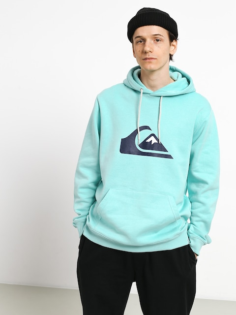Bluza z kapturem Quiksilver Big Logo HD (aqua splash)