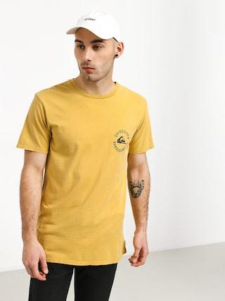 T-shirt Quiksilver Skulled (rattan)