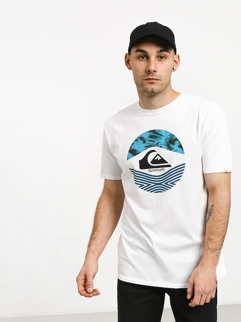 T-shirt Quiksilver Stomped On (white)