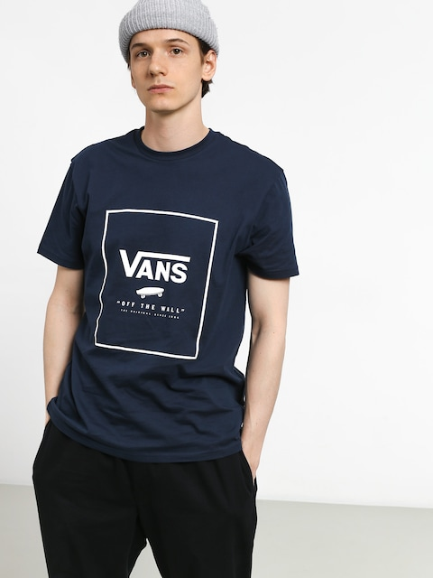 T-shirt Vans Print Box (dress blues/white)