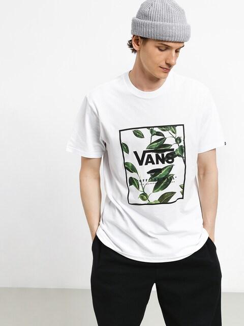 T-shirt Vans Print Box (white/rubber co. floral)
