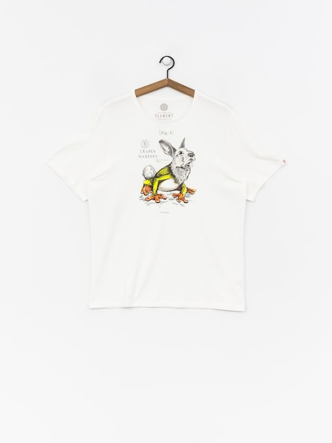 T-shirt Element Leapus (bone white)