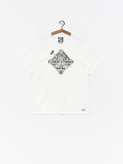 T-shirt Element Rolling (off white)