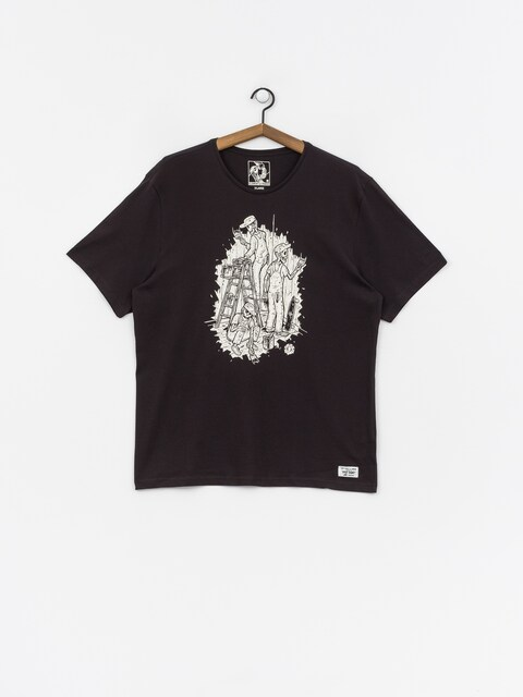 T-shirt Element Night Shift (off black)
