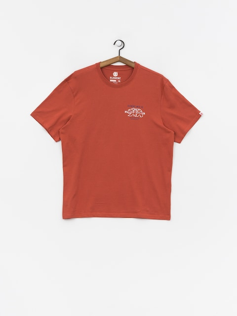 T-shirt Element Roam (etruscan red)