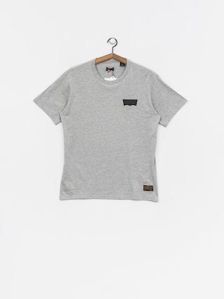 T-shirt Levi's Graphic (heather grey core batwing black)