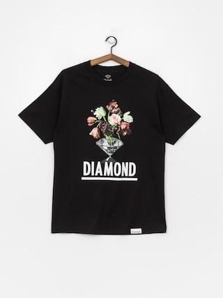 T-shirt Diamond Supply Co. Pollination (black)