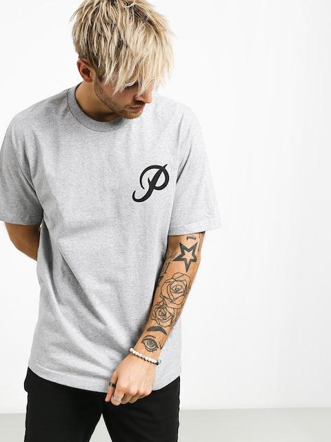 T-shirt Primitive Classic P (grey/black)