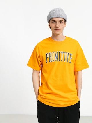 T-shirt Primitive Collegiate Arch Outline (gold)