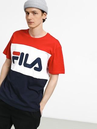 T-shirt Fila Day (black iris/high risk red/bright white)