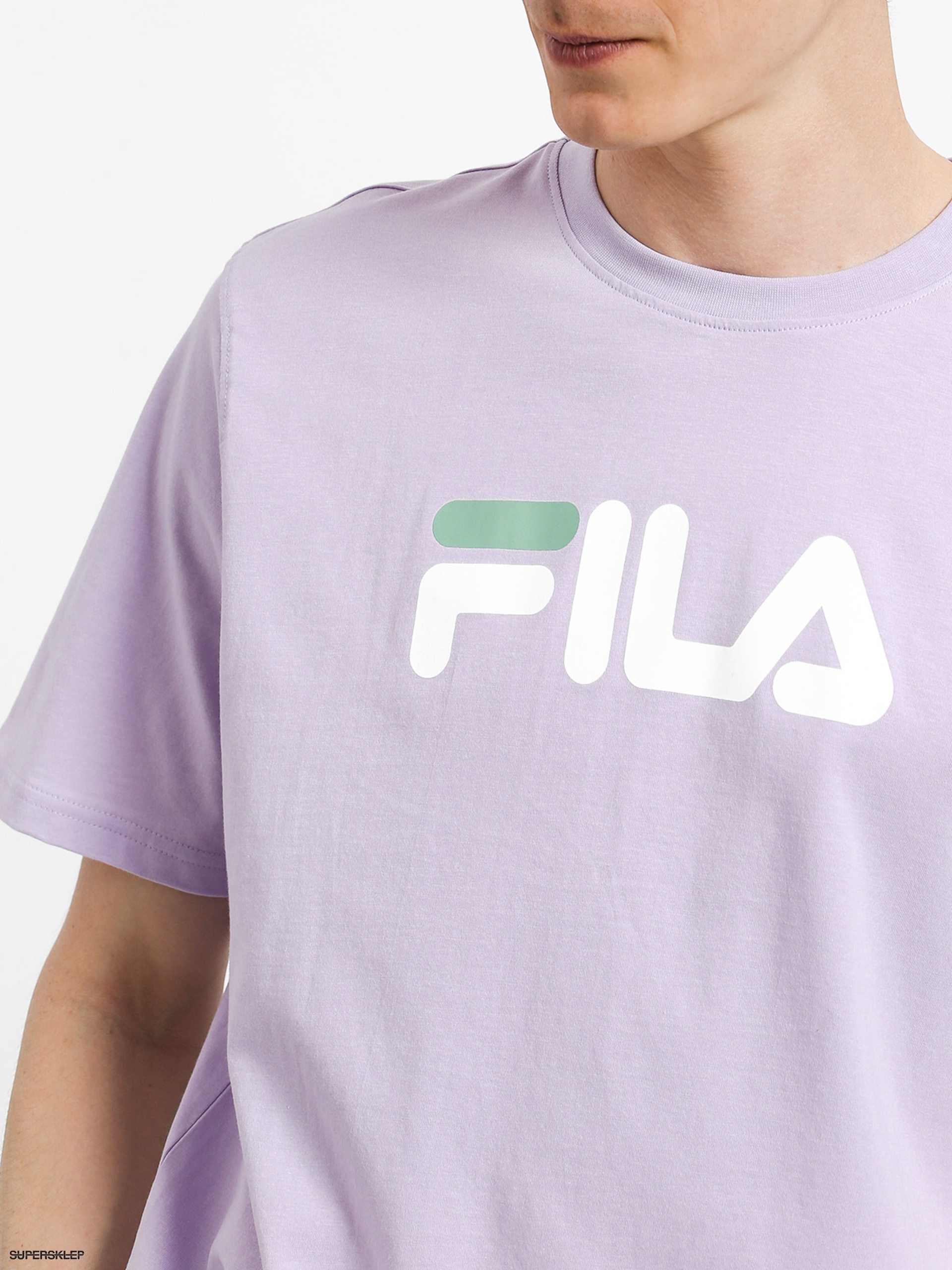 Fila Eagle t shirt with large logo in white