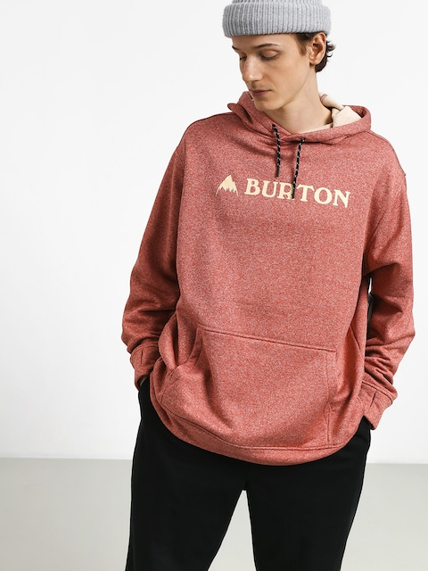 Bluza z kapturem Burton Oak HD (tandori heather)