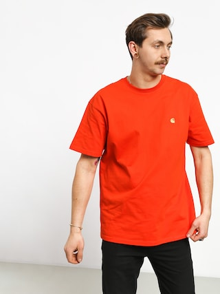 T-shirt Carhartt WIP Chase (pepper/gold)