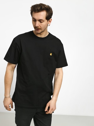 T-shirt Carhartt Chase (black/gold)