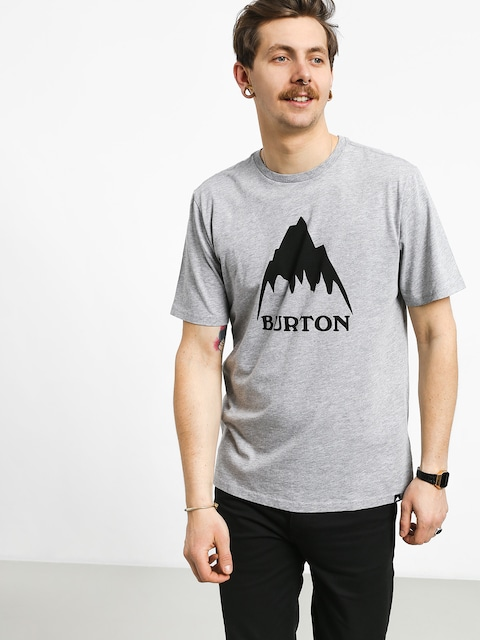 T-shirt Burton Clmtnhgh (gray heather)