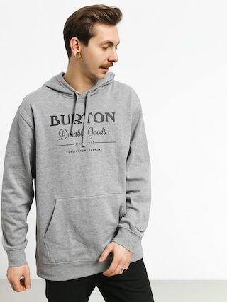 Bluza Burton Durable Goods (gray heather)