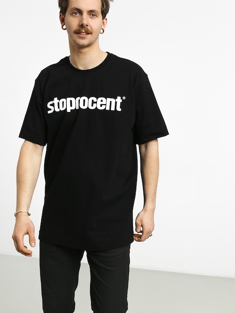 T-shirt Stoprocent Simple 19 (black)