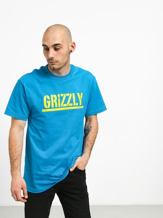 T-shirt Grizzly Griptape Stamped (teal)