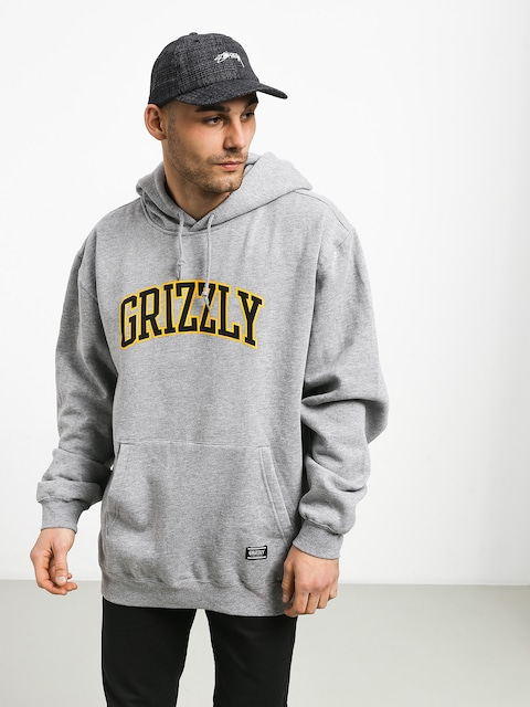 Bluza z kapturem Grizzly Griptape University HD (grey heather)