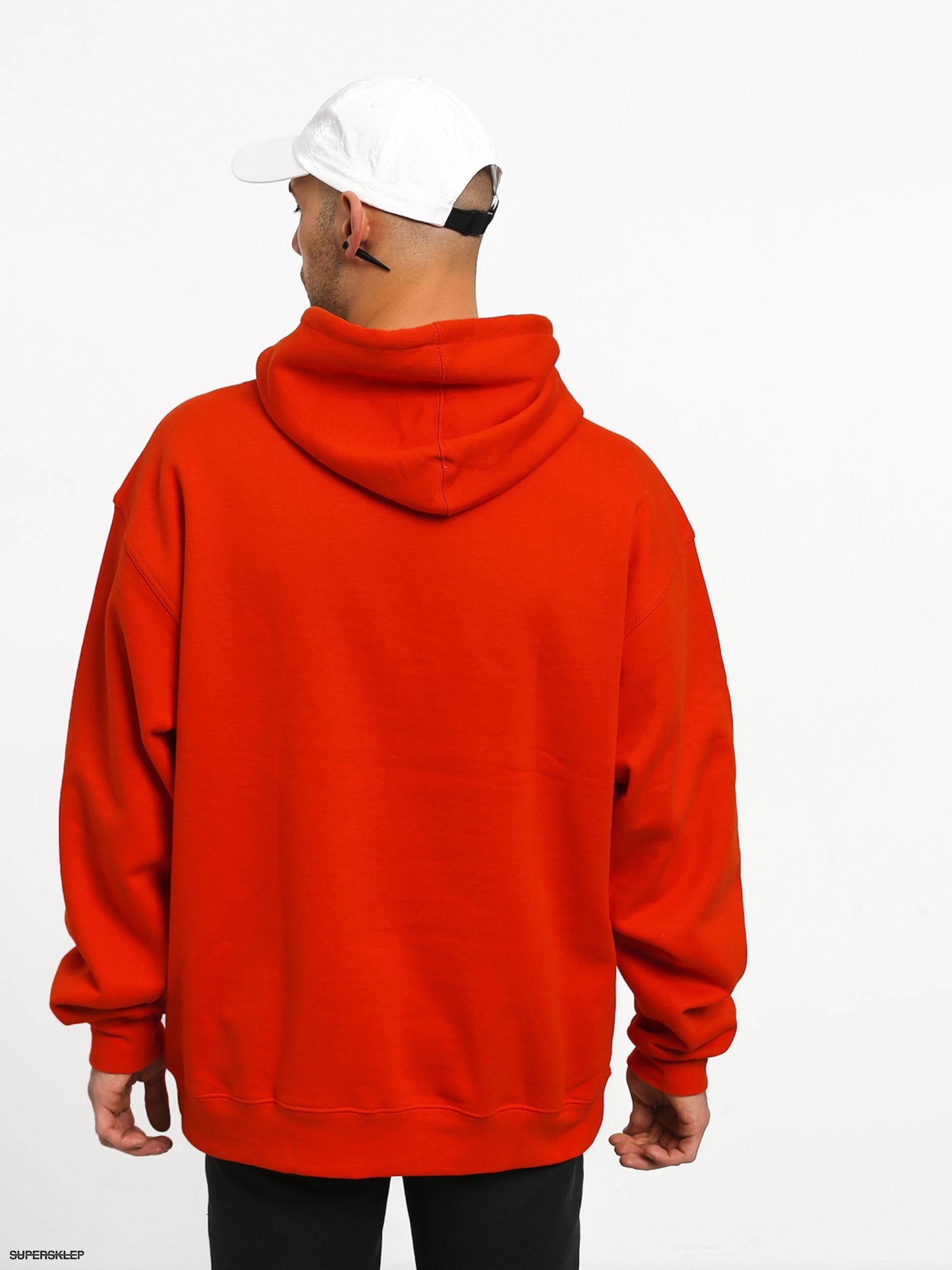 ograniczona guantity jakość kupuj bestsellery Bluza z kapturem Grizzly Griptape Og Bear Embroidered HD (safety orange)
