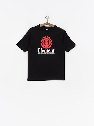 T-shirt Element Vertical (flint black)