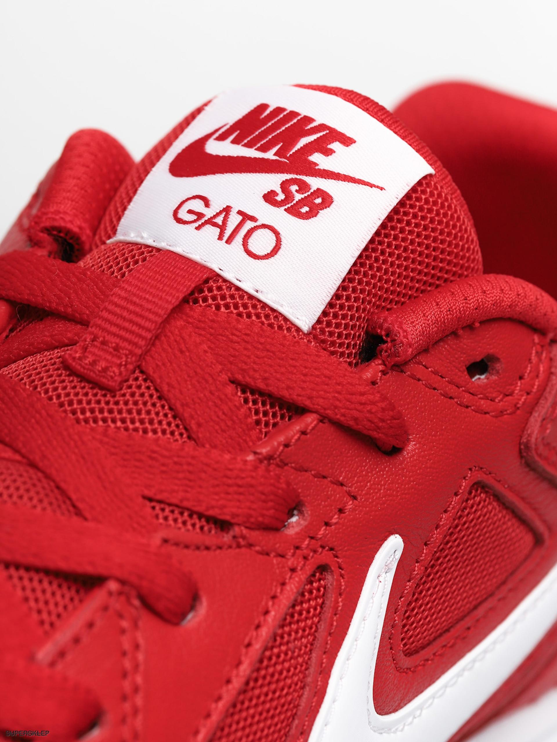 Buty Nike SB Sb Gato (university redwhite gum light brown)