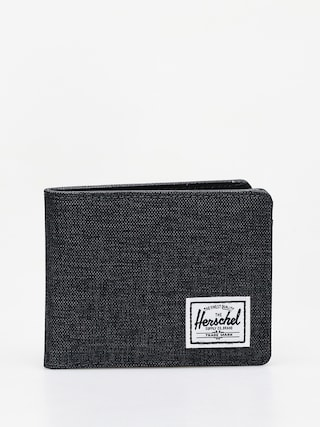 Portfel Herschel Supply Co. Hank Rfid (black crosshatch/black)